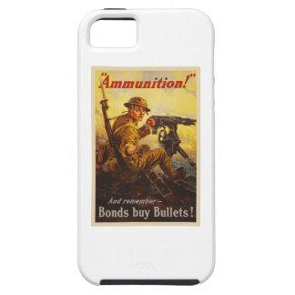 US War Bonds Ammunition WWI Propaganda Tough iPhone 5 Case