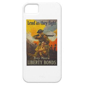 US War Bonds Liberty Lend Fight WWI Propaganda iPhone 5 Cases