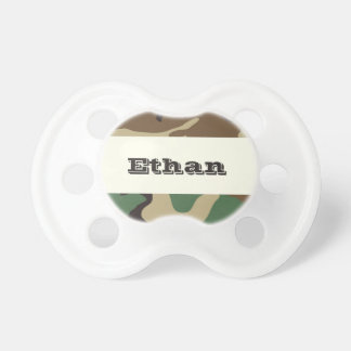 US Woodland Camo 0-6 months BooginHead® Pacifier