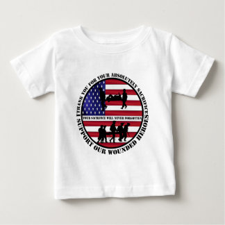 US wounded heroes Baby T-Shirt