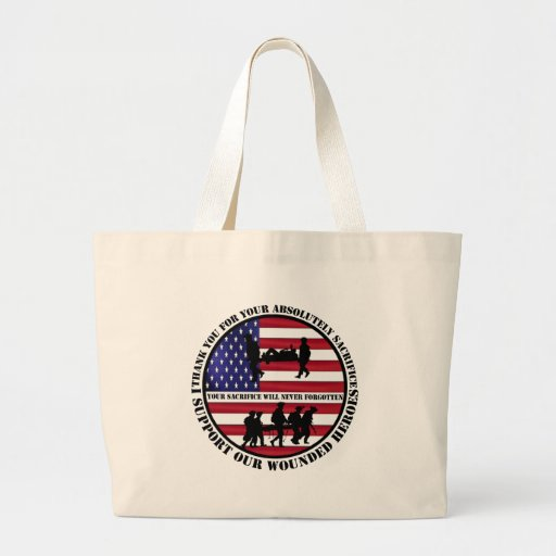 US wounded heroes Bags
