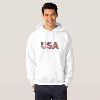 USA 3D Letters Hoodie
