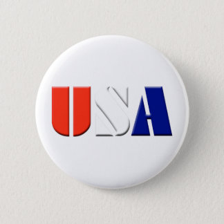 USA 6 CM ROUND BADGE