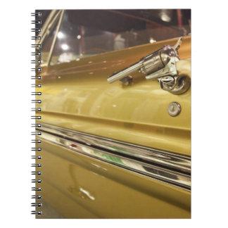 USA, Alabama, Tuscumbia. Alabama Music Hall of 3 Notebooks