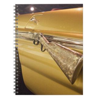 USA, Alabama, Tuscumbia. Alabama Music Hall of Notebooks