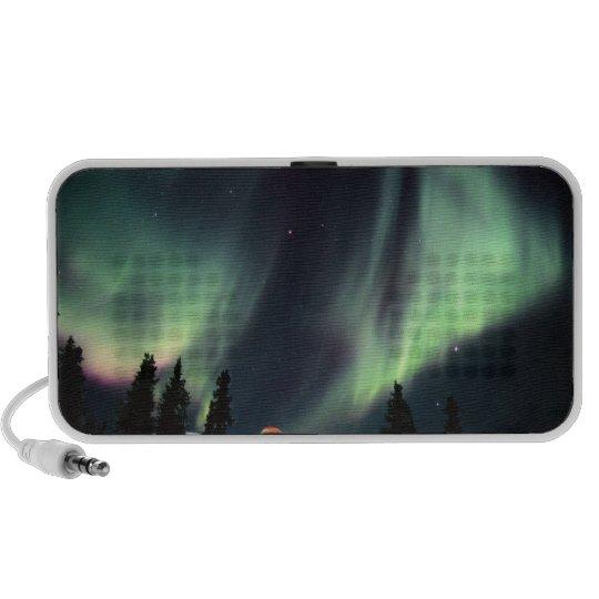 USA, Alaska, Chena Hot Springs. Aurora Mp3 Speakers