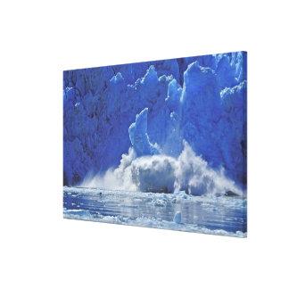 USA, Alaska, Juneau. Part of South Sawyer Stretched Canvas Print
