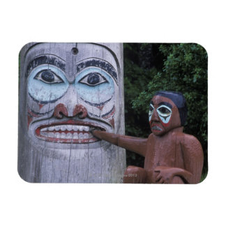 USA, Alaska, Ketchikan, Totem Heritage Center, Magnet