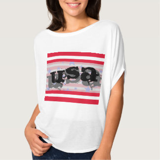 USA America Fourth of July Patriotic Tshirt
