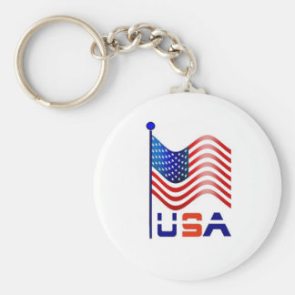 usa america key ring