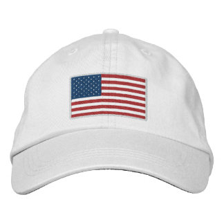 USA America Patriotic Embroidered Hat
