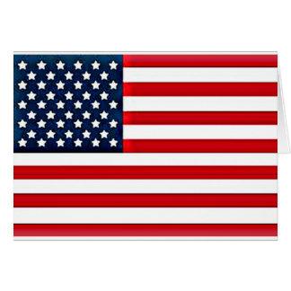 USA American Flag Greeting Card