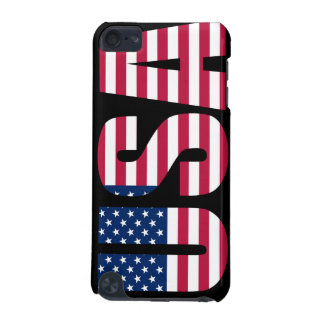 USA American Flag iPod touch case