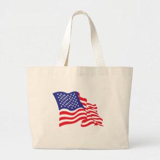 USA/American Flag Jumbo Tote Bag