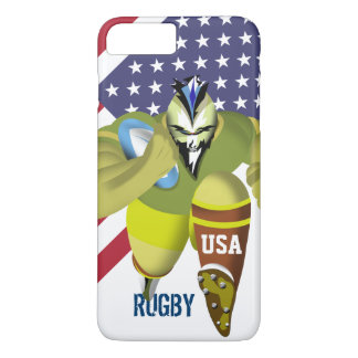 USA American Flag Rugby iPhone 7 Case