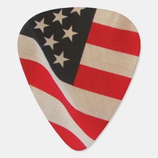 USA American Flag Stars and Stripes Old Glory Guitar Pick