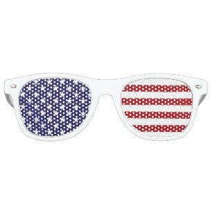 6db002102a6a3 USA American Flag - Stars and Stripes - Old Glory Retro Sunglasses