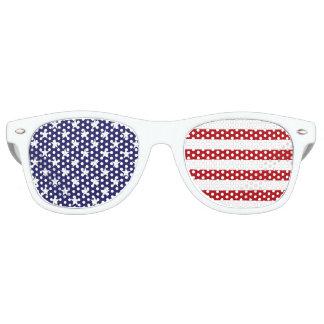 USA American Flag - Stars and Stripes - Old Glory Retro Sunglasses