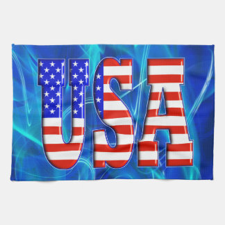 USA AMERICAN FLAG TEA TOWEL