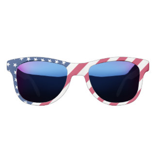 USA American Patriotic Stars Stripes Flag Sunglasses