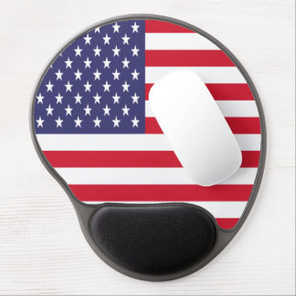 USA American Patriotic United States Gel Mouse Pad