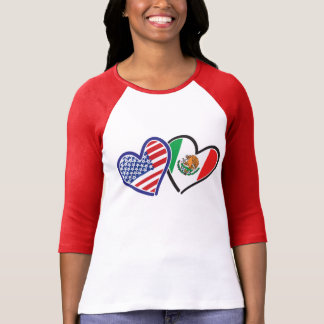 USA and Mexico Love T-Shirt
