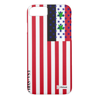 USA and Syria Flag Phone Cover for iphone 7