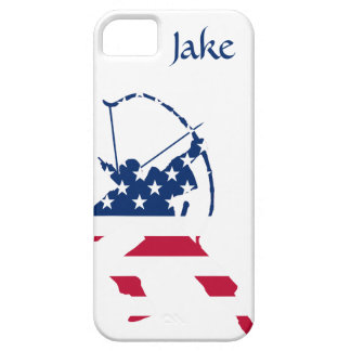USA Archery American archer flag iPhone 5 Case