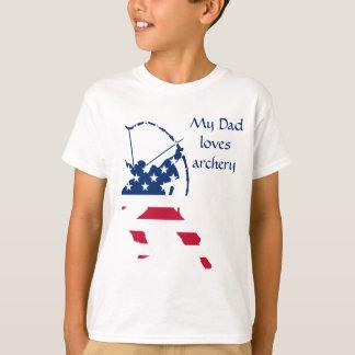 USA Archery American archer flag T-Shirt