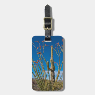 USA, Arizona. Cactus In Saguaro National Park Luggage Tag