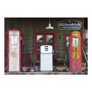 USA, Arizona. Chloride Ghost Town, old gas Photographic Print