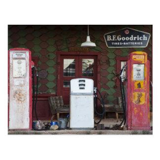 USA, Arizona. Chloride Ghost Town, old gas Postcard