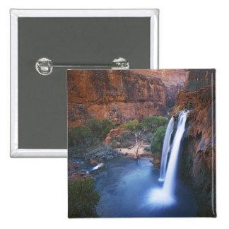USA, Arizona, Grand Canyon, Havasu Falls 15 Cm Square Badge