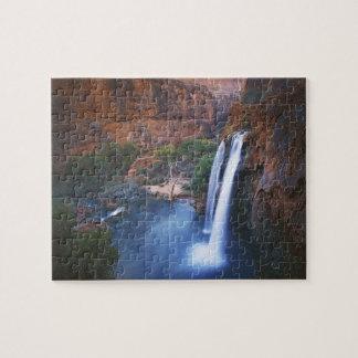 USA, Arizona, Grand Canyon, Havasu Falls Jigsaw Puzzle