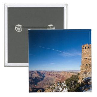 USA, Arizona, Grand Canyon National Park. Desert 15 Cm Square Badge