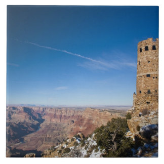 USA, Arizona, Grand Canyon National Park. Desert Ceramic Tile
