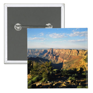 USA, Arizona, Grand Canyon National Park, View 15 Cm Square Badge