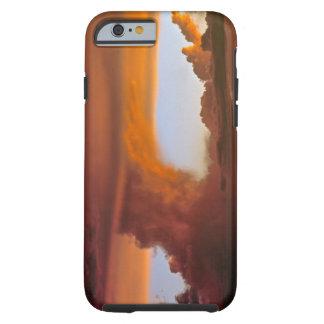 USA, Arizona, Grand Canyon NP. Sunset creates Tough iPhone 6 Case