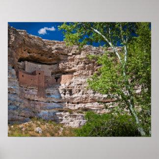USA, Arizona. Montezuma Castle, The Ruins Poster