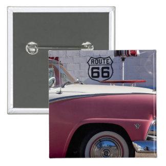 USA, Arizona, Williams. Rt. 66 Town, 1950's 15 Cm Square Badge