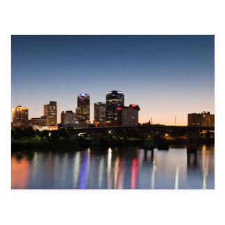 USA, Arkansas, Little Rock, City Skyline Postcard