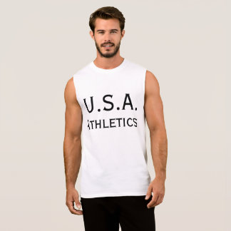 USA Athletics Sleeveless Shirt