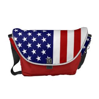 USA Bag With The American Flag Commuter Bag