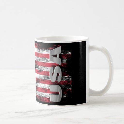 USA Battle Flag Mug