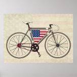 USA Bike poster