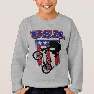 USA-BMX Biker Sweatshirt