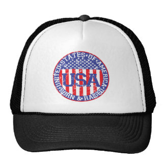 USA Born and Raised Cap