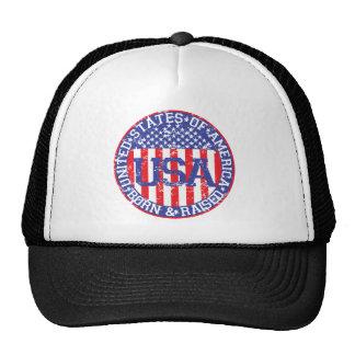 USA Born and Raised Cap