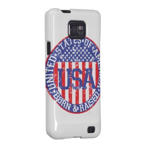 USA Born and Raised Samsung Galaxy S2 Covers