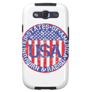 USA Born and Raised Samsung Galaxy SIII Cases